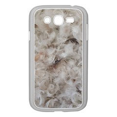 Down Comforter Feathers Goose Duck Feather Photography Samsung Galaxy Grand DUOS I9082 Case (White)
