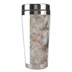Down Comforter Feathers Goose Duck Feather Photography Stainless Steel Travel Tumblers