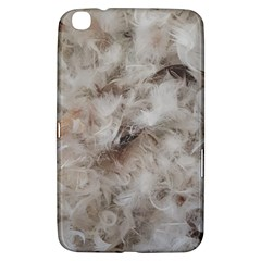 Down Comforter Feathers Goose Duck Feather Photography Samsung Galaxy Tab 3 (8 ) T3100 Hardshell Case