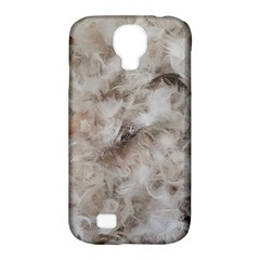 Down Comforter Feathers Goose Duck Feather Photography Samsung Galaxy S4 Classic Hardshell Case (PC+Silicone)