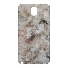 Down Comforter Feathers Goose Duck Feather Photography Samsung Galaxy Note 3 N9005 Hardshell Back Case