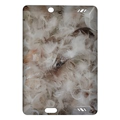 Down Comforter Feathers Goose Duck Feather Photography Amazon Kindle Fire HD (2013) Hardshell Case