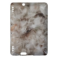 Down Comforter Feathers Goose Duck Feather Photography Kindle Fire HDX Hardshell Case