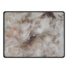 Down Comforter Feathers Goose Duck Feather Photography Double Sided Fleece Blanket (Small)