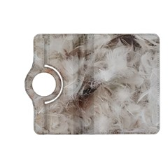 Down Comforter Feathers Goose Duck Feather Photography Kindle Fire HD (2013) Flip 360 Case