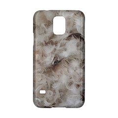 Down Comforter Feathers Goose Duck Feather Photography Samsung Galaxy S5 Hardshell Case