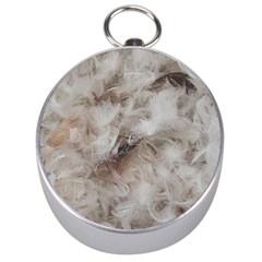 Down Comforter Feathers Goose Duck Feather Photography Silver Compasses