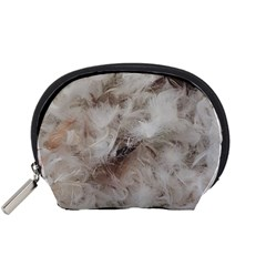 Down Comforter Feathers Goose Duck Feather Photography Accessory Pouches (Small)