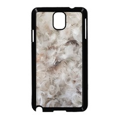 Down Comforter Feathers Goose Duck Feather Photography Samsung Galaxy Note 3 Neo Hardshell Case (Black)