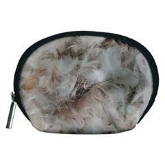 Down Comforter Feathers Goose Duck Feather Photography Accessory Pouches (Medium)