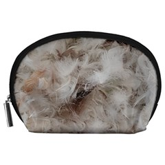 Down Comforter Feathers Goose Duck Feather Photography Accessory Pouches (Large)