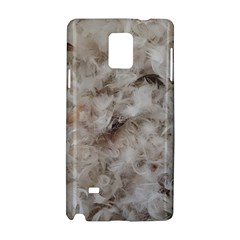 Down Comforter Feathers Goose Duck Feather Photography Samsung Galaxy Note 4 Hardshell Case