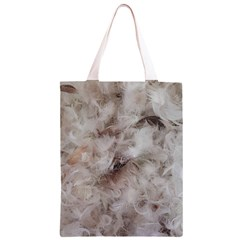 Down Comforter Feathers Goose Duck Feather Photography Classic Light Tote Bag