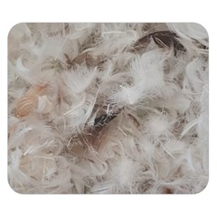Down Comforter Feathers Goose Duck Feather Photography Double Sided Flano Blanket (Small)