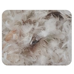 Down Comforter Feathers Goose Duck Feather Photography Double Sided Flano Blanket (Medium)