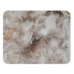 Down Comforter Feathers Goose Duck Feather Photography Double Sided Flano Blanket (Large)