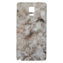 Down Comforter Feathers Goose Duck Feather Photography Galaxy Note 4 Back Case