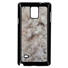 Down Comforter Feathers Goose Duck Feather Photography Samsung Galaxy Note 4 Case (Black)