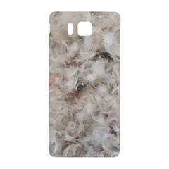 Down Comforter Feathers Goose Duck Feather Photography Samsung Galaxy Alpha Hardshell Back Case