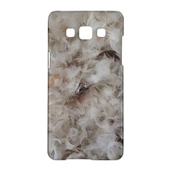 Down Comforter Feathers Goose Duck Feather Photography Samsung Galaxy A5 Hardshell Case