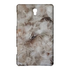 Down Comforter Feathers Goose Duck Feather Photography Samsung Galaxy Tab S (8.4 ) Hardshell Case