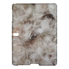 Down Comforter Feathers Goose Duck Feather Photography Samsung Galaxy Tab S (10.5 ) Hardshell Case