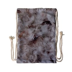 Down Comforter Feathers Goose Duck Feather Photography Drawstring Bag (Small)