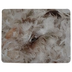 Down Comforter Feathers Goose Duck Feather Photography Jigsaw Puzzle Photo Stand (Rectangular)
