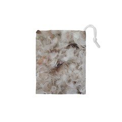 Down Comforter Feathers Goose Duck Feather Photography Drawstring Pouches (XS)