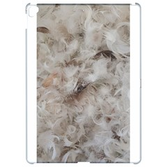 Down Comforter Feathers Goose Duck Feather Photography Apple iPad Pro 12.9   Hardshell Case