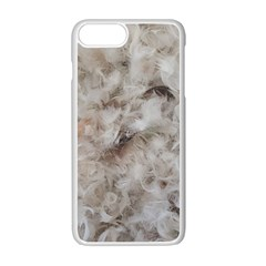 Down Comforter Feathers Goose Duck Feather Photography Apple Iphone 7 Plus White Seamless Case