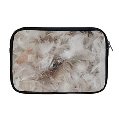 Down Comforter Feathers Goose Duck Feather Photography Apple MacBook Pro 17  Zipper Case