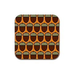 Acorn Orang Rubber Coaster (Square)