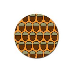 Acorn Orang Magnet 3  (Round)