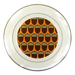 Acorn Orang Porcelain Plates