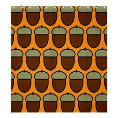 Acorn Orang Shower Curtain 66  x 72  (Large)