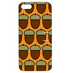 Acorn Orang Apple iPhone 5 Hardshell Case with Stand