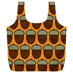 Acorn Orang Full Print Recycle Bags (L)