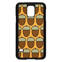Acorn Orang Samsung Galaxy S5 Case (Black)