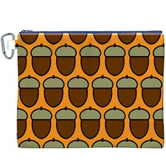 Acorn Orang Canvas Cosmetic Bag (XXXL)