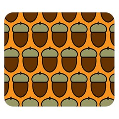 Acorn Orang Double Sided Flano Blanket (Small)