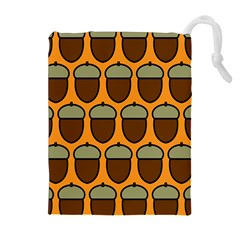 Acorn Orang Drawstring Pouches (Extra Large)
