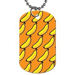Banana Orange Dog Tag (One Side)