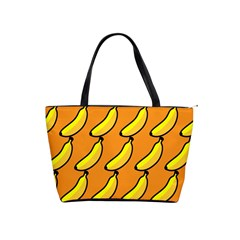 Banana Orange Shoulder Handbags