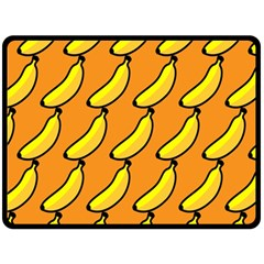 Banana Orange Fleece Blanket (Large)