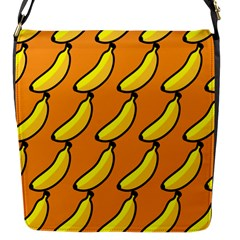 Banana Orange Flap Messenger Bag (S)