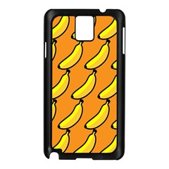 Banana Orange Samsung Galaxy Note 3 N9005 Case (Black)