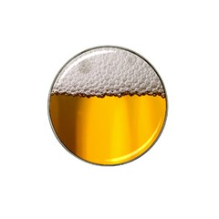 Beer Foam Yellow Hat Clip Ball Marker (10 pack)