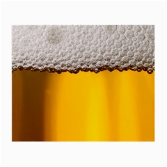 Beer Foam Yellow Small Glasses Cloth (2-Side)