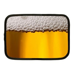 Beer Foam Yellow Netbook Case (Medium)